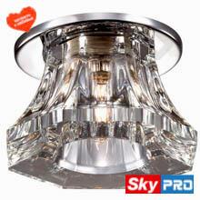 Точечные стеклянные светильники для натяжных потолков