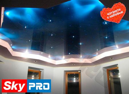 Звёздное небо на потолке