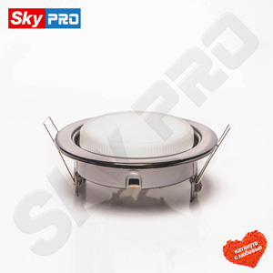 Светодиодный светильник SkyPRO 53 цвет тёмный хром цена