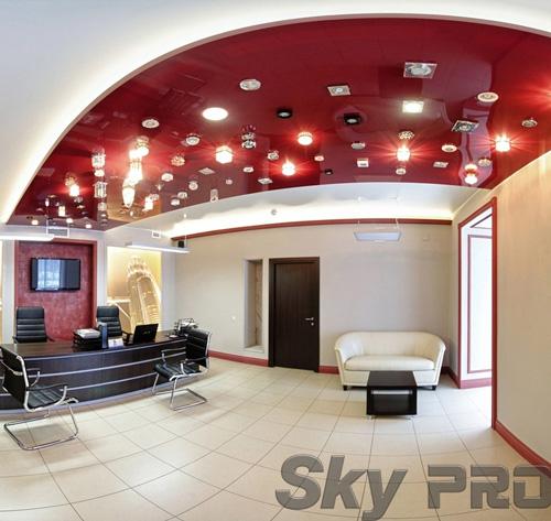 светильники в офисе SkyPRO в Санкт-Петербурге