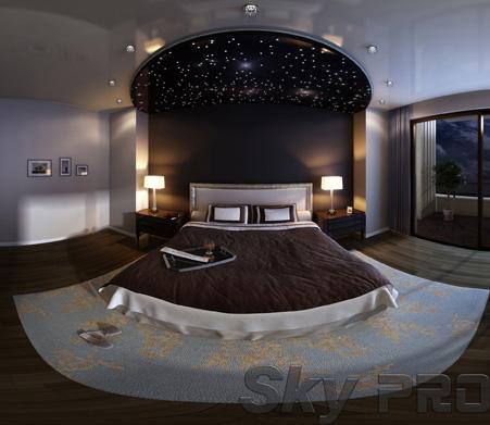 Натяжной потолок звездное небо StarPins